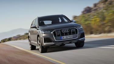 Audi SQ7 TDI - Front 3/4 dynamic view