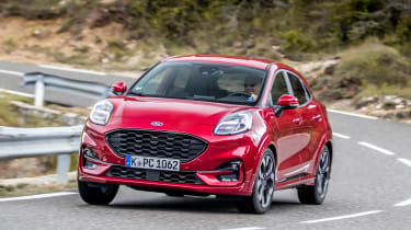 Ford Puma SUV front action