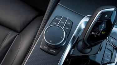 BMW 5 Series saloon centre console