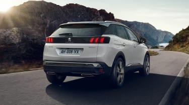 2020 Peugeot 3008 PHEV - rear 3/4 dynamic