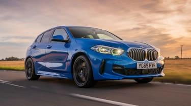 Blue BMW 1 Series