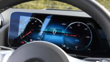 Mercedes EQA SUV review digital dials