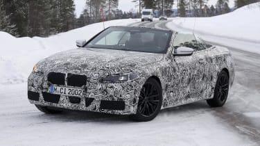 BMW 4 Series Convertible prototype in Sweden