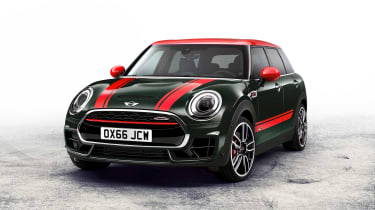 The MINI Clubman John Cooper Works has 228bhp, making it a Ford Focus ST rival capable of 148mph