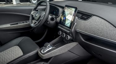 New Renault ZOE - interior quarter view