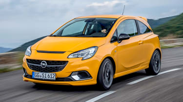 Vauxhall Corsa GSI in motion