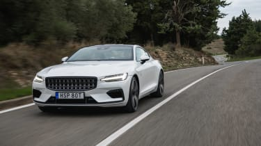 Polestar 1 coupe front tracking