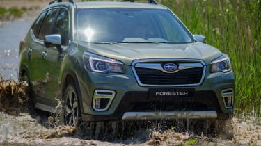 Subaru Forester SUV off-roading