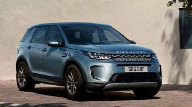 Land Rover Discovery Sport SUV grille