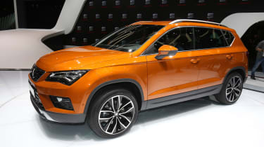 The Ateca made its public debut at the 2016 Geneva Motor Show
