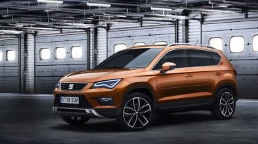 The new SEAT Ateca is based on the same mechanical underpinnings as the popular SEAT Leon
