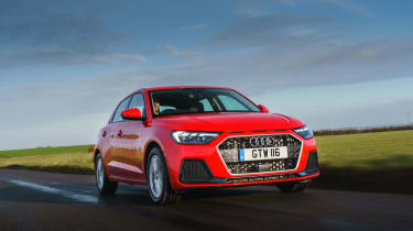 Audi A1 2019 front tracking 3