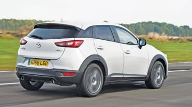 The Mazda CX-3 is also among the most reliable small SUVs