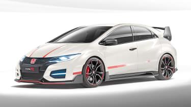 Honda Civic Type-R in Championship White