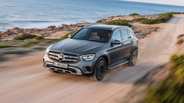 2019 Mercedes GLC SUV - driving front