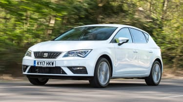 2017 SEAT Leon - front 3/4 view