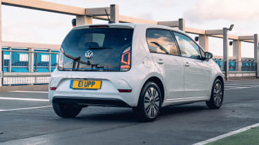 Volkswagen e-up rear