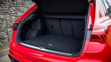 Audi RS Q3 boot