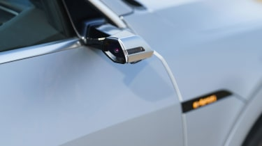 Audi e-tron Sportback SUV side camera stalk