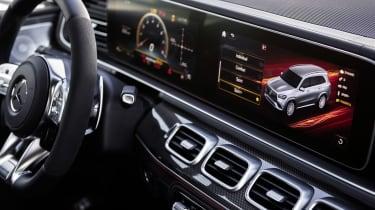 Mercedes-AMG GLS 63 twin screens