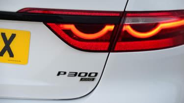 Jaguar XF saloon rear lights