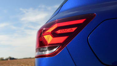 2021 Dacia Sandero hatchback - tail light