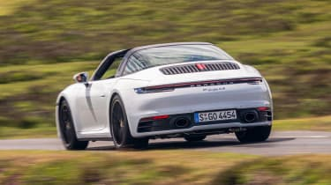 Porsche 911 Targa rear driving