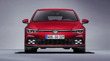 2020 Volkswagen Golf GTI  - front on view