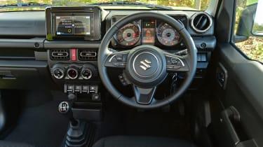 Suzuki Jimny SUV interior