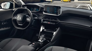 Peugeot e-208 interior