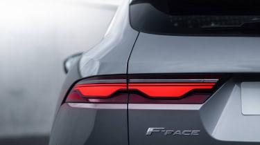 2020 Jaguar F-Pace - rear lights close up