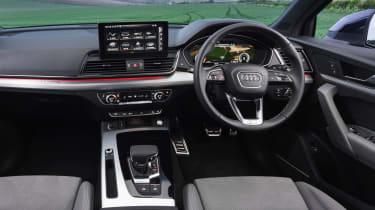 Audi Q5 Sportback SUV - dashboard