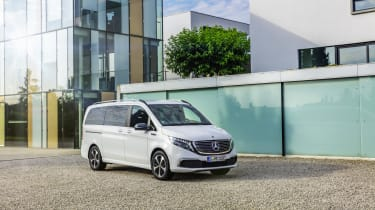 Mercedes EQV - front 3/4 static