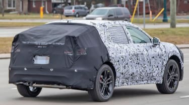 Ford Mondeo SUV prototype rear