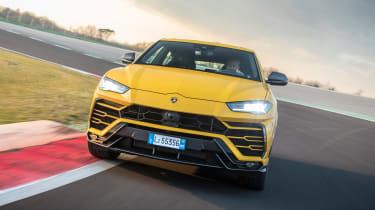 The Urus is Lamborghini's first foray into the SUV market