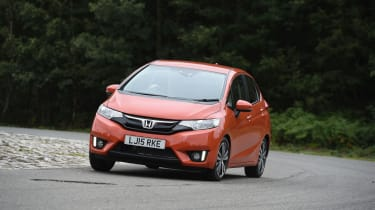 The Honda Jazz features a City Brake system, which can apply the brakes if an imminent collision is detected