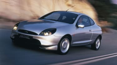 1997 Ford Puma - front 3/4 driving