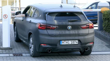 BMW X2 facelift rear end
