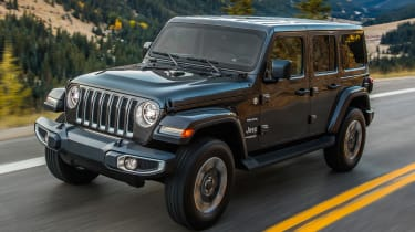 As rough-and-tumble as ever, the new Jeep Wrangler doesn't mess with the formula