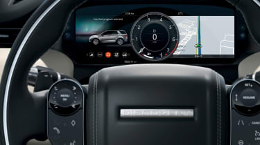 Facelifted Land Rover Discovery Sport - digital dial cluster