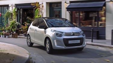 Citroën C1 Origins - front quarter