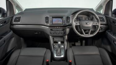 SEAT Alhambra MPV dashboard