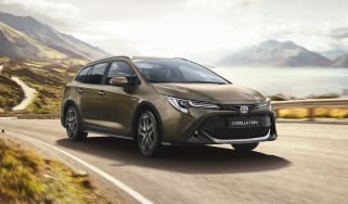 2019 Toyota Corolla TREK - Front dynamic 3/4