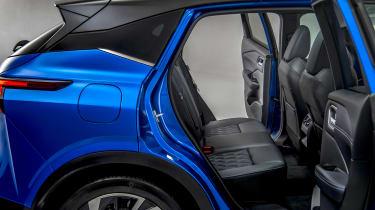 New Nissan Qashqai rear seats