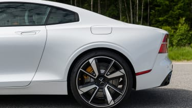 2019 Polestar 1 prototype - rear flank close up