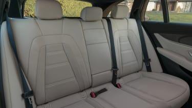 Mercedes-AMG E 63 estate rear seats