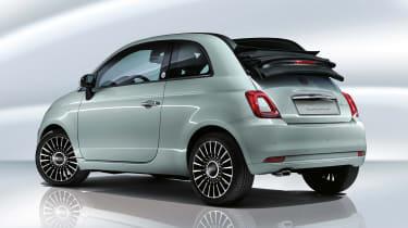 Fiat 500C mild hybrid - rear