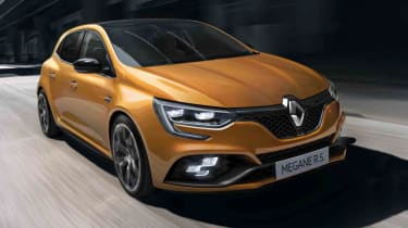 Enthusiasts will be keen to get behind the wheel of the next Renault Megane RS