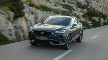 2020 Cupra Formentor SUV  - front driving