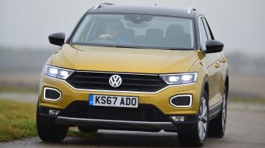 Volkswagen T-Roc SUV front cornering